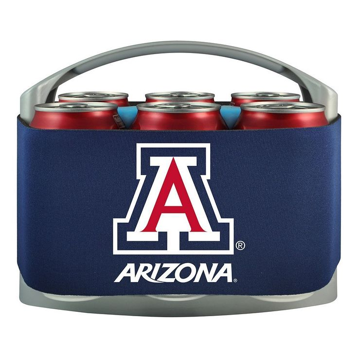 Arizona Wildcats 6-Pack Cooler Holder, Multicolor