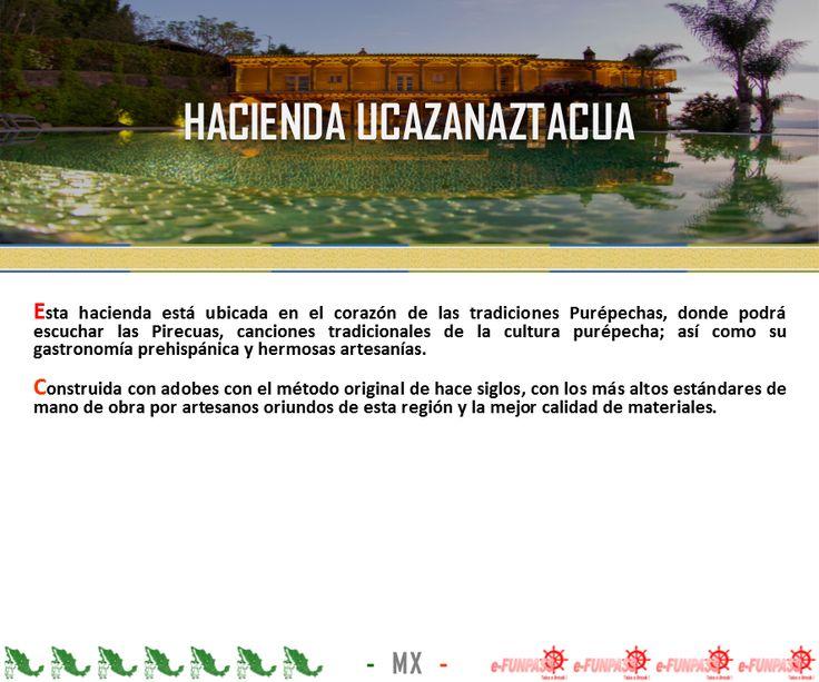 TZINTZUNTZAN - Hacienda Ucazanaztacua