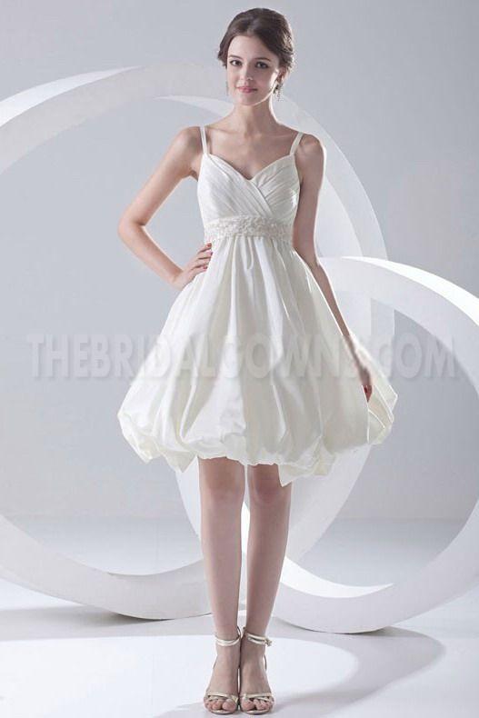 Ivory Classic A-Line prom Dresses - Order Link: http://www.thebridalgowns.com/ivory-classic-a-line-prom-dresses-tbg6993 - SILHOUETTE: A-Line; SLEEVE: Sleeveless; LENGTH: Knee Length; FABRIC: Taffeta; EMBELLISHMENTS: Beading - Price: 172USD