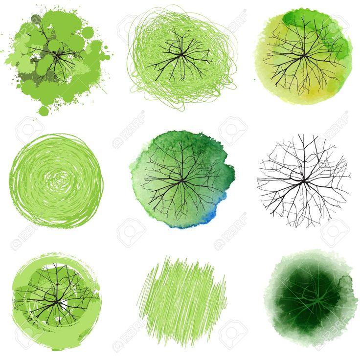 tree plan design promarker - Google Search
