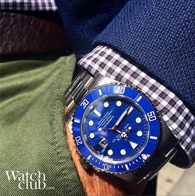 rolex submariner blue on wrist wwwpixsharkcom images
