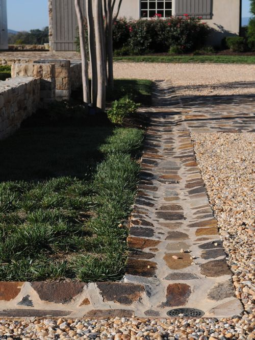 Landscaped Drainage Ditch Home Design Ideas, Pictures, Remodel and ...