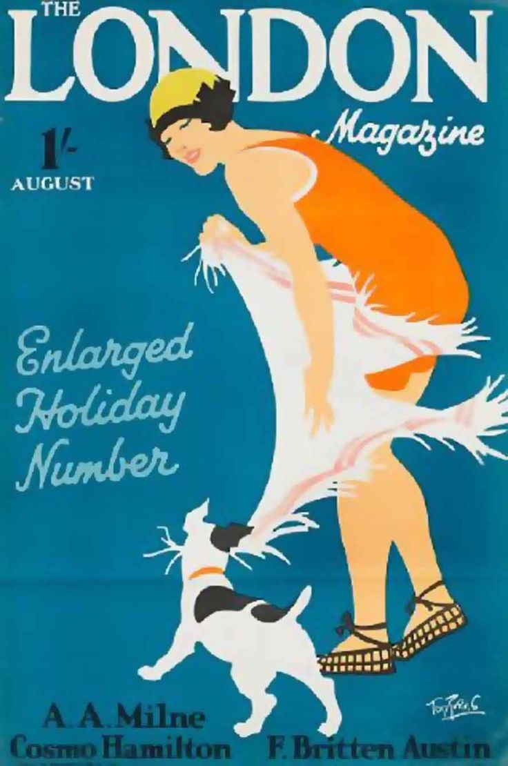 Tom Purvis, Magazine Covers August