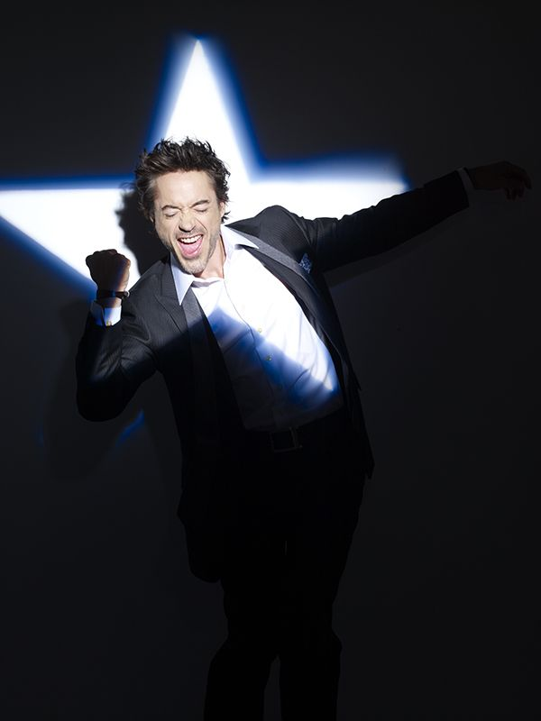 """rankinphoto: """" Robert Downey Jr for Entertainment Weekly in 2008. Grooming: Davy Newkirk, Styling: David August #unseen #outtake #onefromthearchive """""""