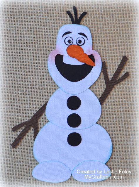 Disney Olaf Frozen Premade Scrapbooking by MyCraftopia on Etsy, $5.95