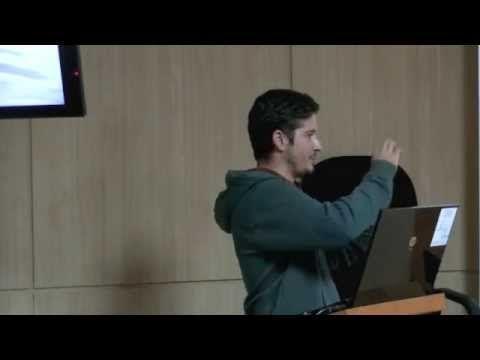 """EVALUACIÓN DE UN SISTEMA DE BIOFILTRACIÓN MULTITRÓFICO USANDO NUEVAS ESPECIES DE ALGAS Y EL PEPINO DE MAR """"HOLOTHURIA SANCTORI"""". Charla de Luis Felaco en la Sala de Grado de la Facultad de Ciencias del Mar, ULPGC, 19-11-2014. Cuarto Ciclo de ciencia compartida ; 6. Más información: http://bibwp.ulpgc.es/carlosbas/2014/11/17/ciencia-aplicada-a-la-resolucion-de-problemas-un-joven-master-en-cultivos-marinos-en-ciencia-compartida"""