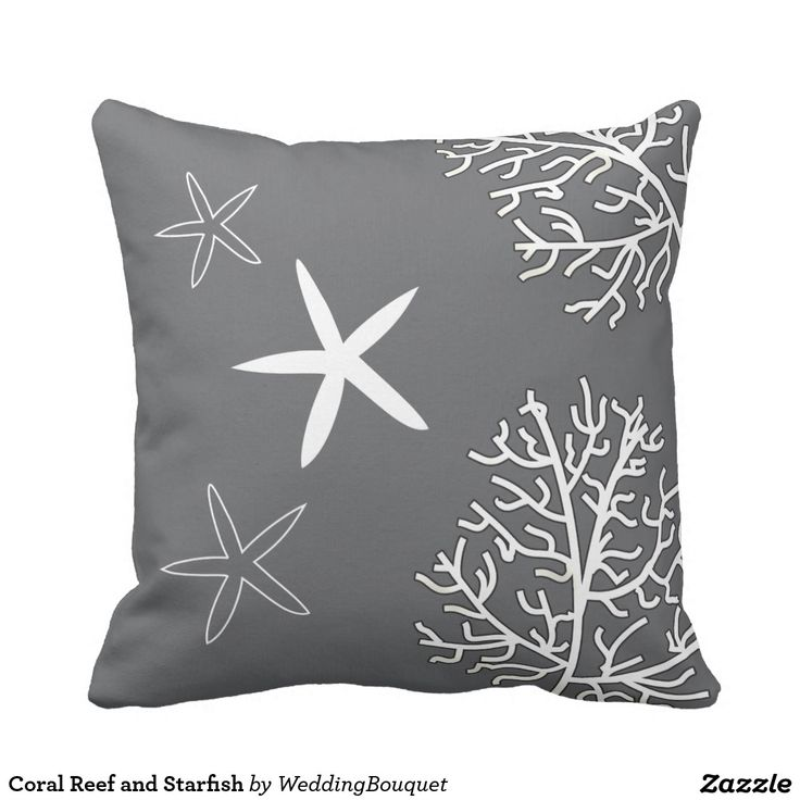 New Coral Reef and Starfish Throw Pillow Ideas - Inspirational throw pillows for sofa Luxury