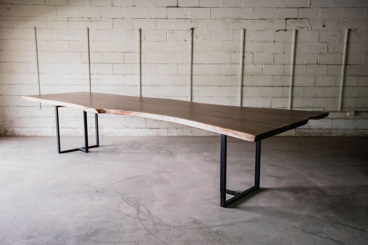 Custom Made Black Walnut Conference Table Or Large Dining Table
