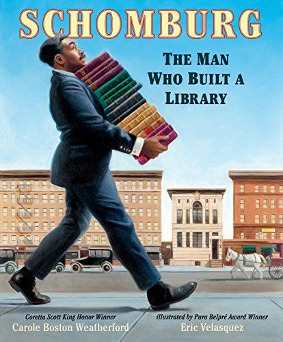Schomburg: The Man Who Built a Library   MAIN Juvenile  E185.97.S36 W43 2017 check availability @ https://library.ashland.edu/search/i?SEARCH=9780763680466