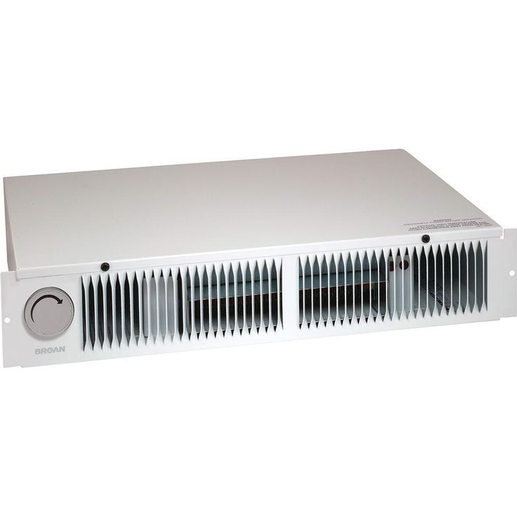 Broan 1 500 Watt Kick Space Heater With Built In Thermostat 112 Baseboard Heating Electric Baseboard Heaters Steam Radiators