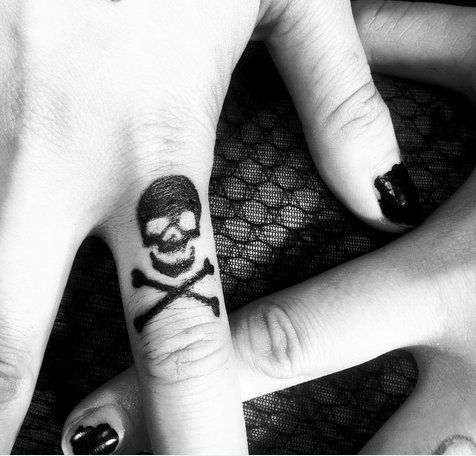 Silly Skull and Crossbones