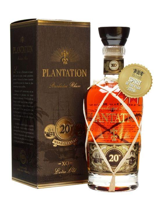 Plantation Extra Old Barbados Rum / 20th Anniversary
