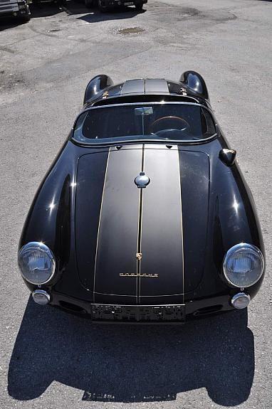 Porsche 550 Spyder Chamonix Oldtimer 1986