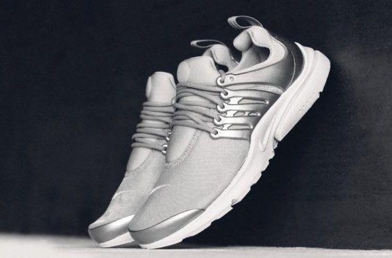 Take A Look At The Nike Air Presto In Metallic Silver