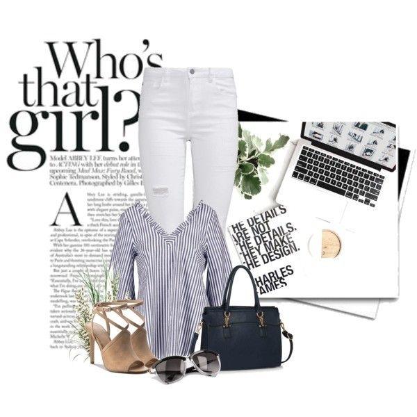 Zobacz stylizację zawierającą m.in. Jeansy Missguided, Torebka WIELKA BRYTANIA. Sprawdź, ile kosztuje i gdzie można kupić!