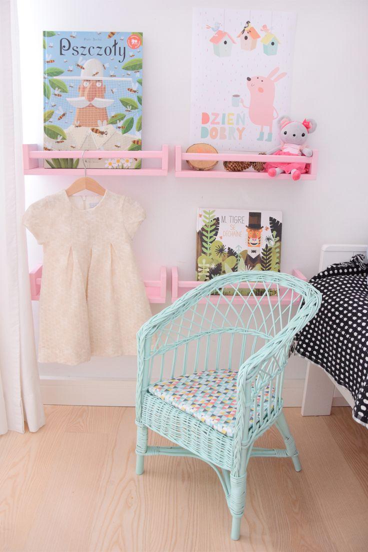 Wicker chair for children.