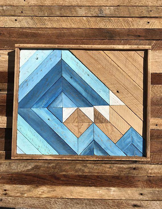 Wave Art Wood Wave Wall Art Wooden Wave Rustic Wave Rustic