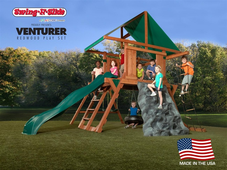 The all new Venturer is part of our line of Redwood