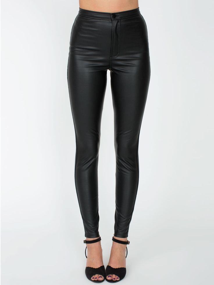 Vegan Leather Pant. #AmericanApparel