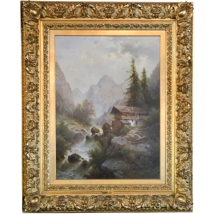 Fabulous 19th Century Austrian Oil Signed Albert Rieger - New Arrivals - Legacy Antiques