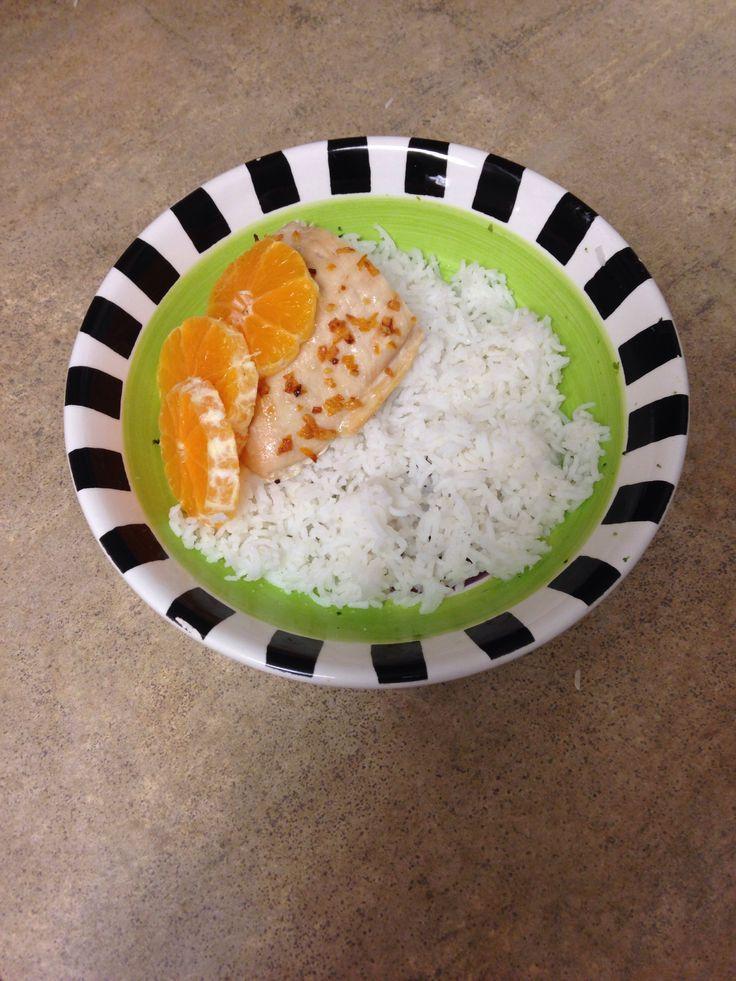 Yummy orange chicken! Paleo, EggFree and DairyFree