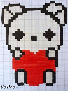 Les 54 meilleures images du tableau dessins pixels sur pinterest dessin pixel pixel art et - Tout les dessin a imprimer ...