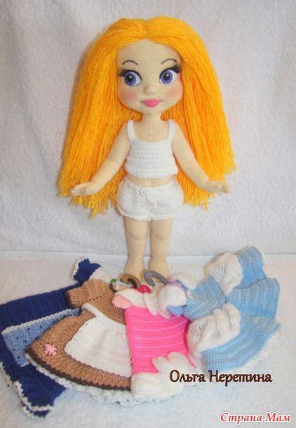 Вязаные куколки от Ольги Неретиной. Обсуждение на LiveInternet - Российский Сервис Онлайн-Дневников