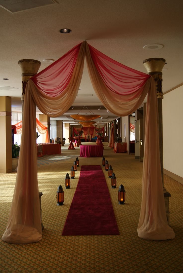 Wedding reception entrance decor - Party Entrance Wedding Entranceentrance Decordrapingreceptionsceilinghome Entrance Decorwedding Receptiontrey Ceiling