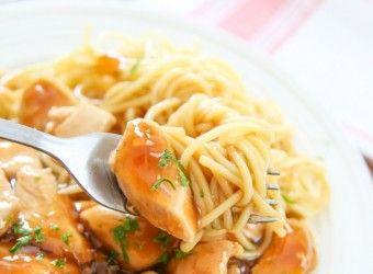 Μακαρονάδα με κοτόπουλο και σάλτσα πορτοκαλιού | InfoKids