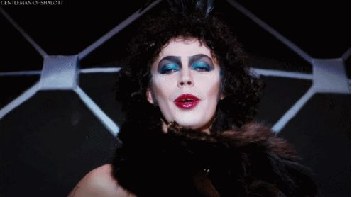 """And Tim Curry as Dr. Frank-N-Furter is the stuff of legends. 