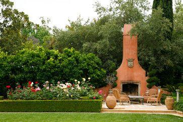 Mediterranean Patio | mediterranean patio design by los angeles landscape architect EPT ...