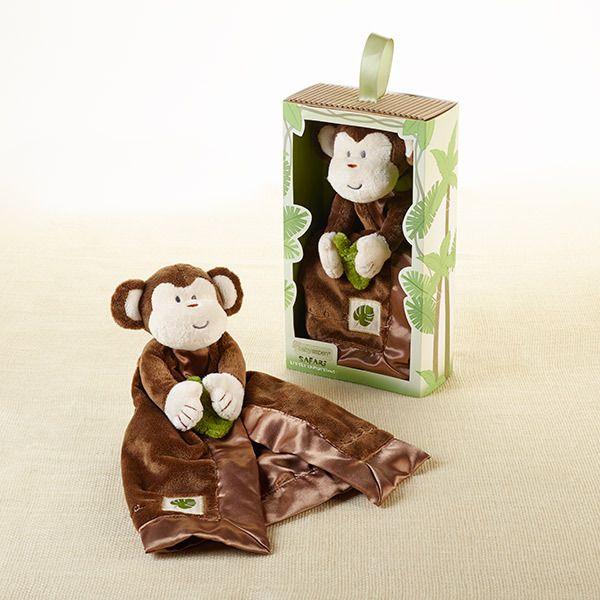 """Minki the Monkey"" Plush Lovie Baby Gift Idea"
