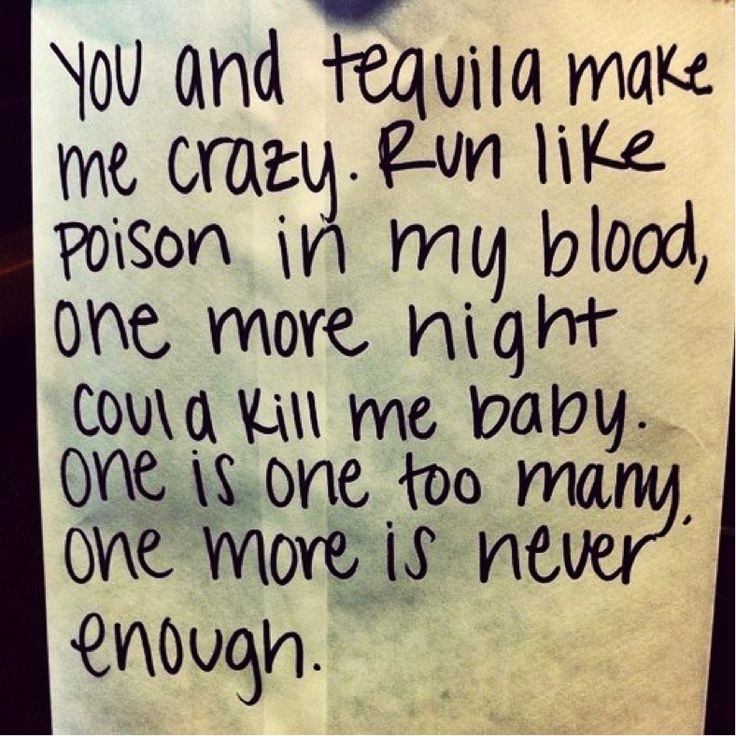 You and Tequila- Kenny Chesney