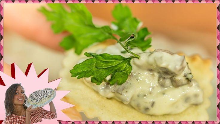 Salsa ai Funghi - Senza Uova - Per Pane e Tartine