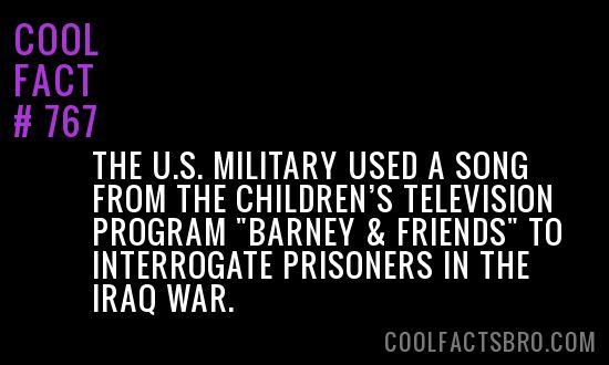 Cool Fact #767