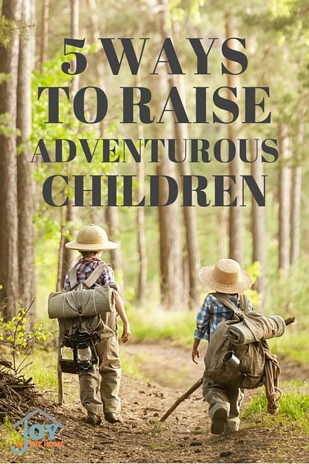 We all want to give our children a great childhood. Having adventures is one of those things that we may not put a lot of thought into, but is so important to a childhood. The best memories are made from times when we were children and we were being adventurous. Aiding our children in being adventurous is where we may struggle, but it isn't that difficult. 5 Ways to Raise