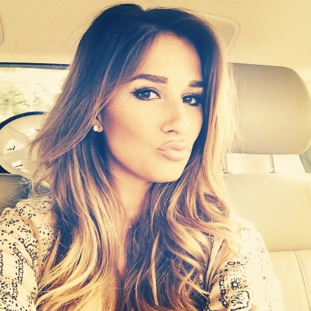 love Jessie james decker's haircolor/ style, makeup, pretty much everything about her !haha:)