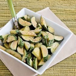 Easy Recipe for Cucumber Salad with Balsamic Dressing