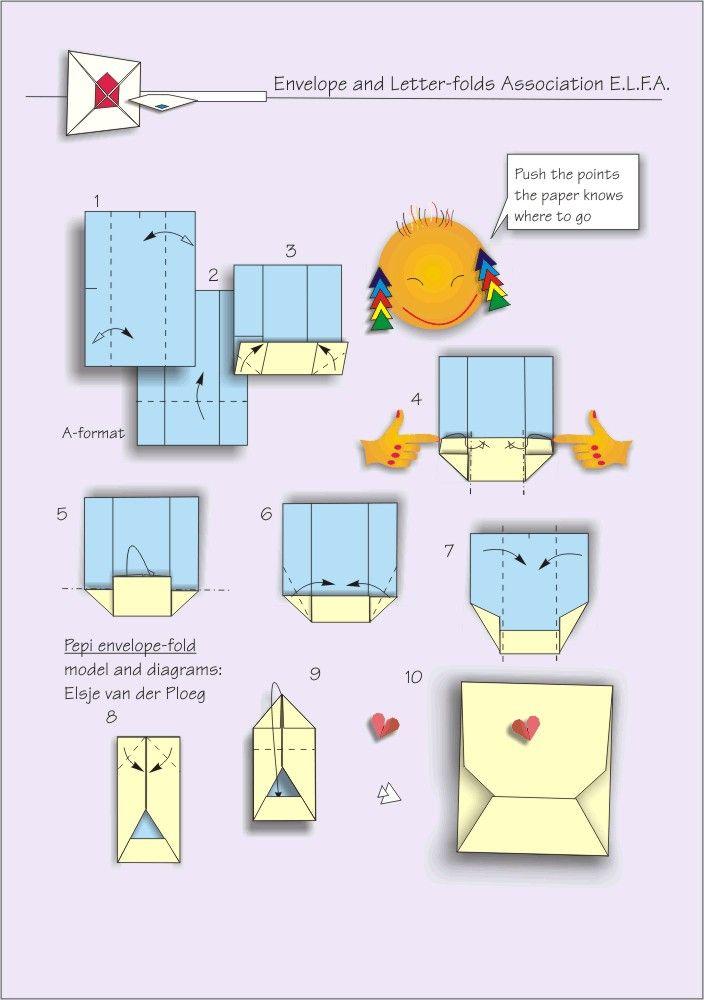 Best Envelope Images On   Origami Envelope Envelopes