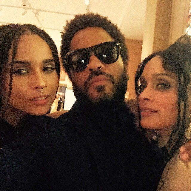 Lisa Bonet and Lenny Kravitz at the Met Gala 2015 | POPSUGAR Celebrity