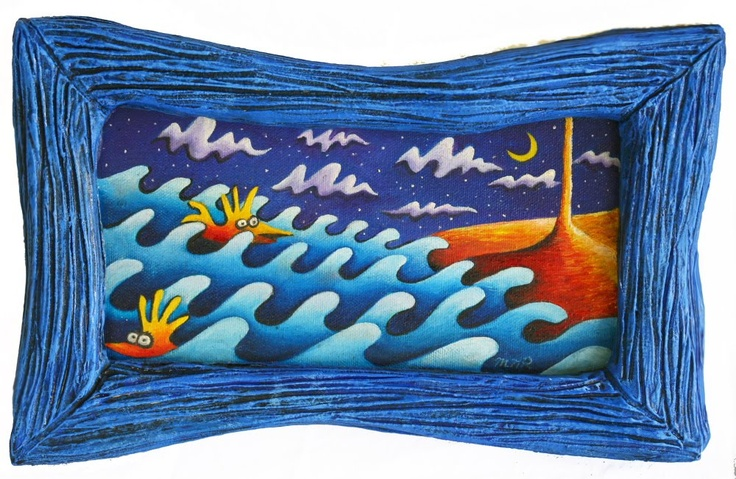 """""""Wiggle Beach Rope of Sand"""" by Margaret Radford"""