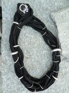 TUTORIAL COLLANE FETTUCCIA! Paciuga, Brega e Imbelina: Come fare le collane con la fettuccia delle borse: tutorial di 5+1 differenti modelli!!