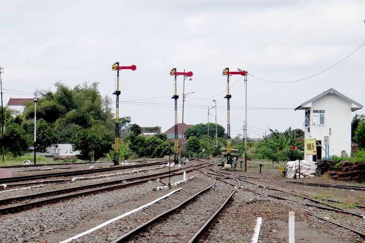 Railway at Blitar Station