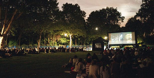 £5.50 tickets to an outdoor screening with Pop Up Screens