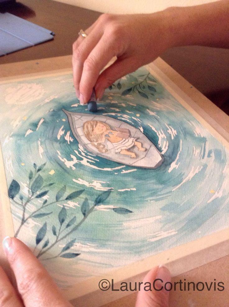 icoloridilaura: Come dipingere l'acqua