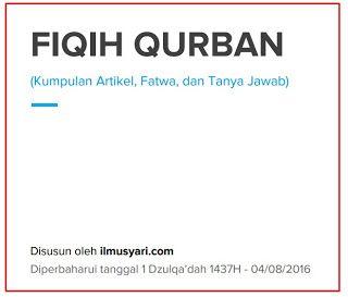 Download Pdf Ebook (BAGUS) FIQIH QURBAN : KUMPULAN ARTIKEL FATWA DAN TANYA JAWAB  Link untuk Download:http://bit.ly/2b688LJ Ukuran file : 785KB | 85 Halaman [ Update : 1 Dzulqadah 1437H - 04/08/2016 ]  Penyusun : Tim IlmuSyari.com  Deskripsi singkat : Kumpulan artikel fatwa dan tanya jawab yang membahas seputar fiqih qurban. Bagaimana panduan dan tata cara menyembelih hewan qurban syarat syarat hewan untuk qurban hukum - hukum dan berbagai permasalahan seputar pelaksanaan ibadah qurban…