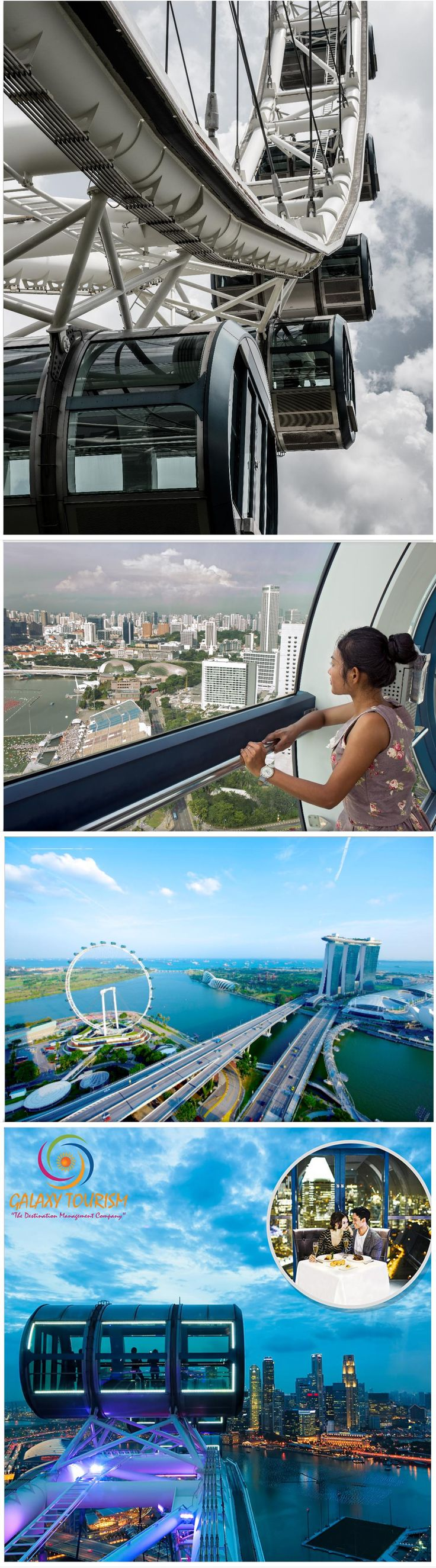 Singapore Flyer is one of the best attractions in world. Dinner on Singapore Flyer is also very popular and full of excitement. Book With Galaxy Tourism at best rate.... http://goo.gl/rNbY3Q #Singapore #SingaporeFlyer #SingaporeAttractions #SingaporeTour