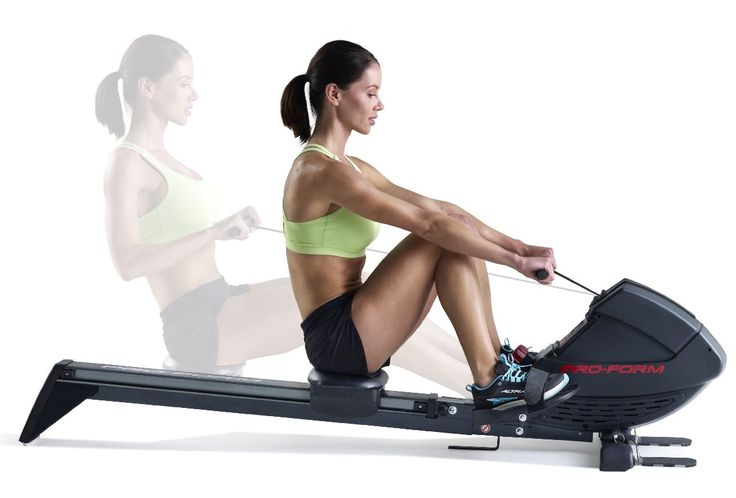 Gym Cardio Equipment Rowing Machine Exercise