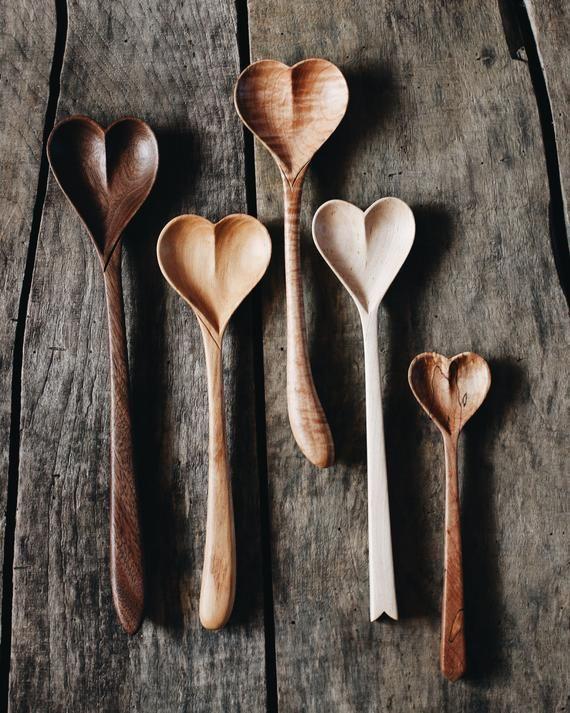Wood Heart Wood Hearts Rustic Sculptures Carving