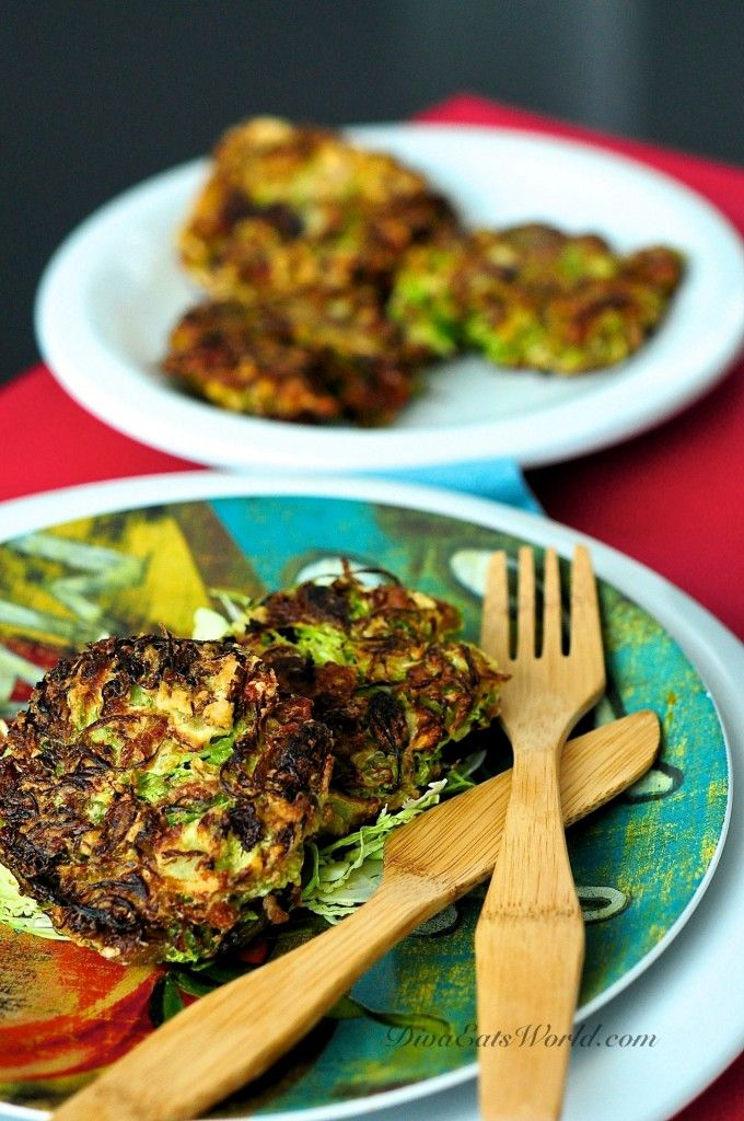 Brussel Sprout, Raisin & Bacon Fritters